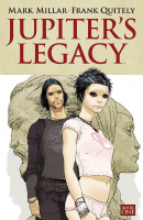 Jupiter's Legacy Books 1 & 2 AND Jupiter's Circle Books 1 & 2 - Set of 4 TPBs/Graphic Novels